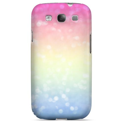 Pale Prismatic - Geeks Designer Line Ombre Series Matte Case for Samsung Galaxy S3