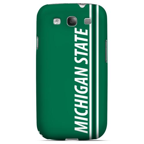 Michigan State - Geeks Designer Line March Madness Series Matte Case for Samsung Galaxy S3