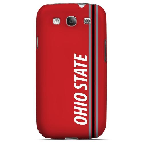 Ohio State - Geeks Designer Line March Madness Series Matte Case for Samsung Galaxy S3