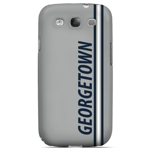 Georgetown - Geeks Designer Line March Madness Series Matte Case for Samsung Galaxy S3