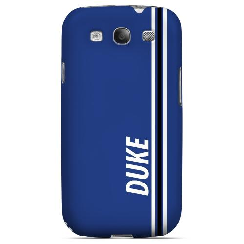 Duke - Geeks Designer Line March Madness Series Matte Case for Samsung Galaxy S3