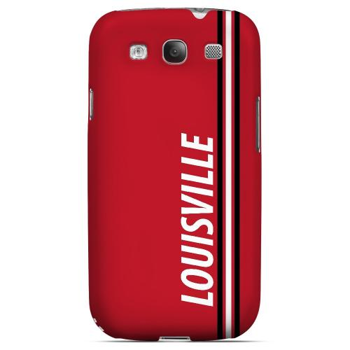 Louisville - Geeks Designer Line March Madness Series Matte Case for Samsung Galaxy S3
