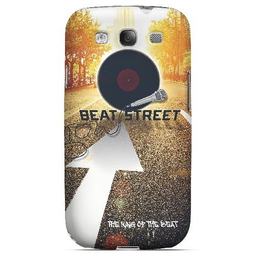 Beatstreet - Geeks Designer Line Music Series Matte Case for Samsung Galaxy S3