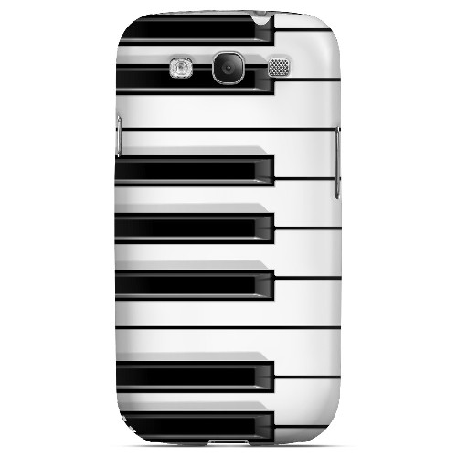 Piano Keys - Geeks Designer Line Music Series Matte Case for Samsung Galaxy S3