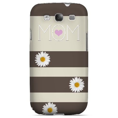 Mom Daisy - Geeks Designer Line Mom Series Matte Case for Samsung Galaxy S3