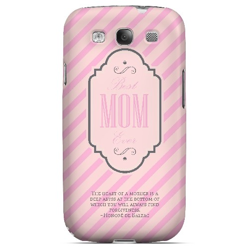 Mom Deep Abyss - Geeks Designer Line Mom Series Matte Case for Samsung Galaxy S3