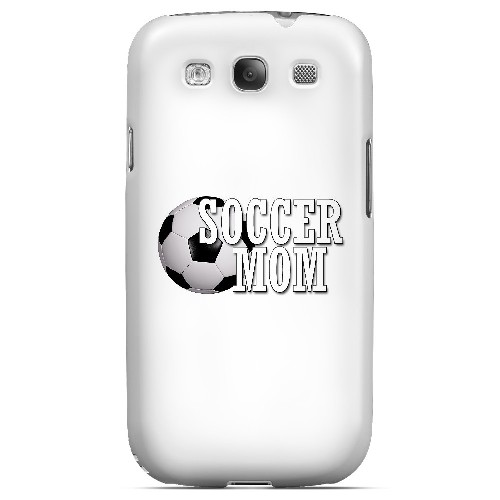 Soccer Mom - Geeks Designer Line Mom Series Matte Case for Samsung Galaxy S3