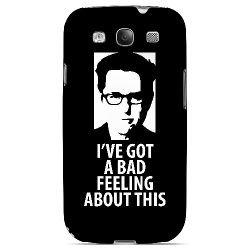 Bad Feeling - Geeks Designer Line Humor Series Matte Case for Samsung Galaxy S3