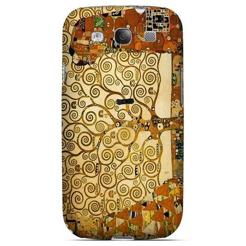 Tree of Life by Gustav Klimt - Geeks Designer Line Artist Series Matte Case for Samsung Galaxy S3