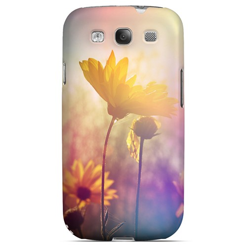 Colorful Daisy Bloom - Geeks Designer Line Spring Series Matte Case for Samsung Galaxy S3
