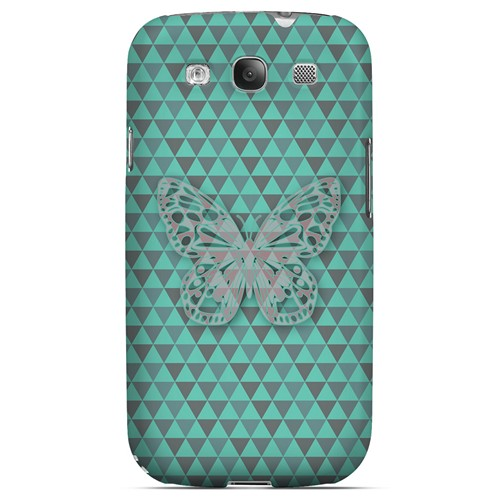 Butterfly Crypsis - Geeks Designer Line Spring Series Matte Case for Samsung Galaxy S3