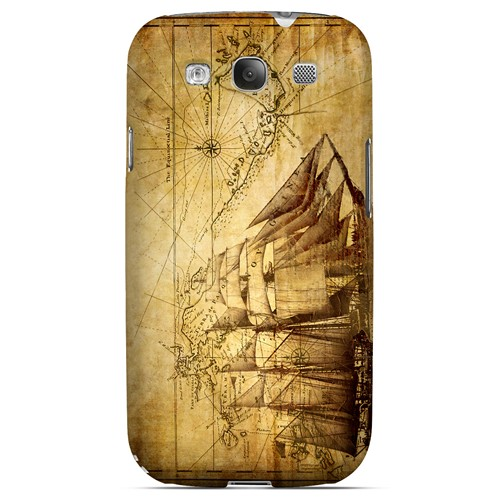 British Sea Power - Geeks Designer Line Map Series Matte Case for Samsung Galaxy S3