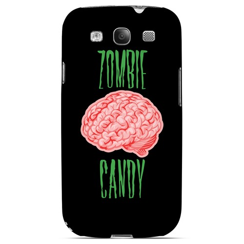 Zombie Candy - Geeks Designer Line Apocalyptic Series Matte Case for Samsung Galaxy S3