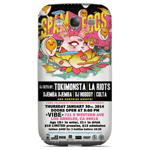 TokiMonsta's Birthday Special 2.0 SPAM N EGGS Hard Case for Samsung Galaxy S3