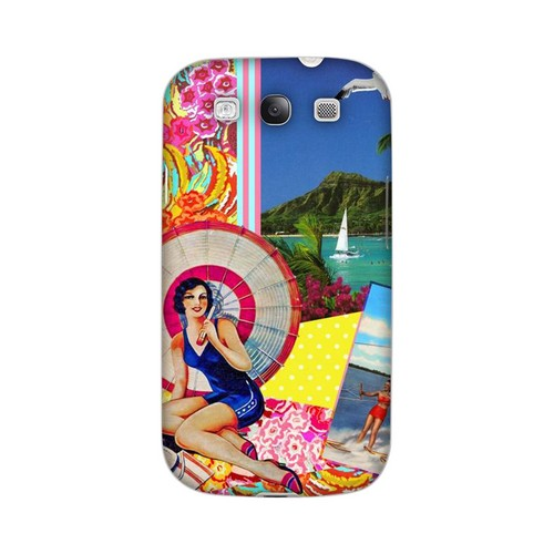 Paradise Americana Nostalgia Series GDL Ultra Matte Hard Case for Samsung Galaxy S3 Geeks Designer Line