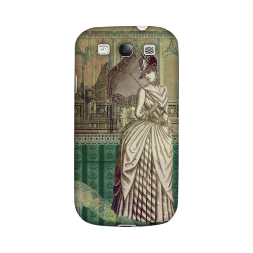 Glossy Southern Belle Americana Nostalgia Series GDL Ultra Matte Hard Case for Samsung Galaxy S3 Geeks Designer Line