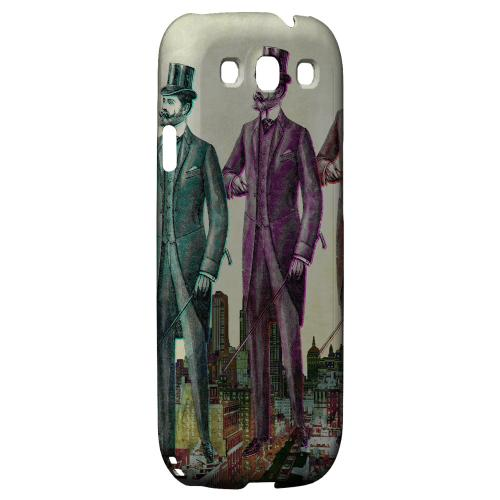 New York Like A Sir Americana Nostalgia Series GDL Ultra Matte Hard Case for Samsung Galaxy S3 Geeks Designer Line