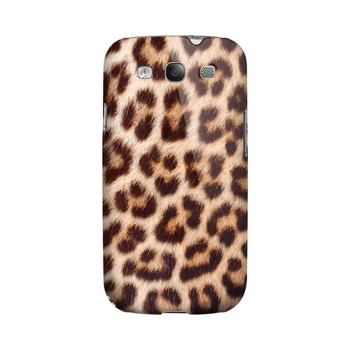 Leopard Close-Up Print Animal Series GDL Ultra Matte Hard Case for Samsung Galaxy S3 Geeks Designer Line
