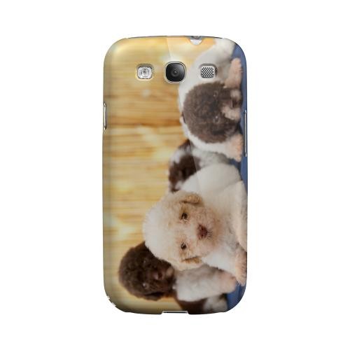 Three Buddies Impact Resistant Geeks Designer Line Matte Hard Case for Samsung Galaxy S3