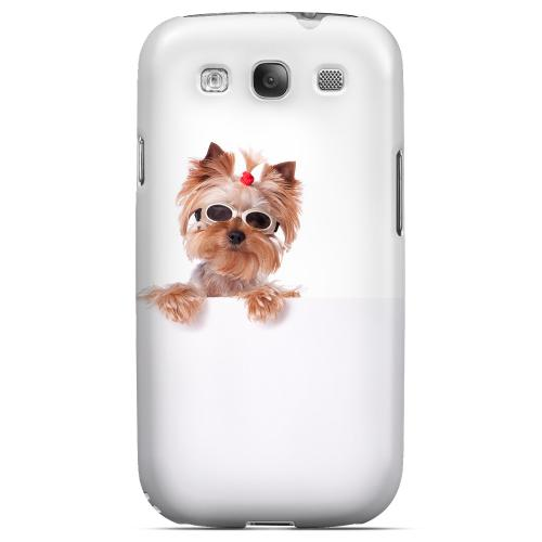 Yorkshire Terrier Impact Resistant Geeks Designer Line Matte Hard Case for Samsung Galaxy S3