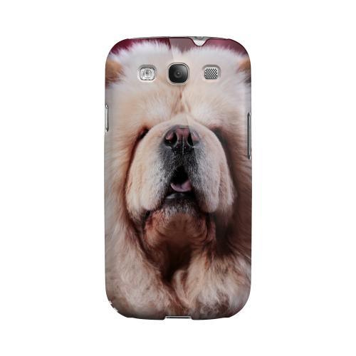 Chow Chow Impact Resistant Geeks Designer Line Matte Hard Case for Samsung Galaxy S3