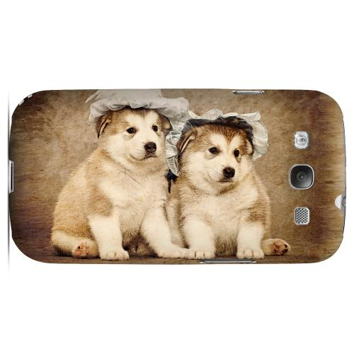 Alaskan Malamute Impact Resistant Geeks Designer Line Matte Hard Case for Samsung Galaxy S3