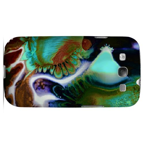 Shades of Eunmi Impact Resistant Geeks Designer Line Asian Print Series Matte Case for Samsung Galaxy S3