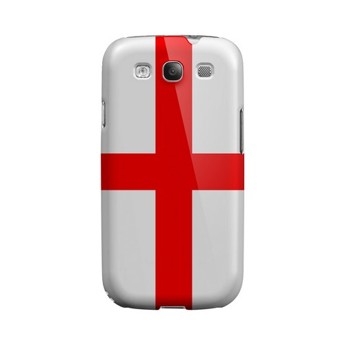 England Geeks Designer Line Flag Series Matte Hard Case for Samsung Galaxy S3
