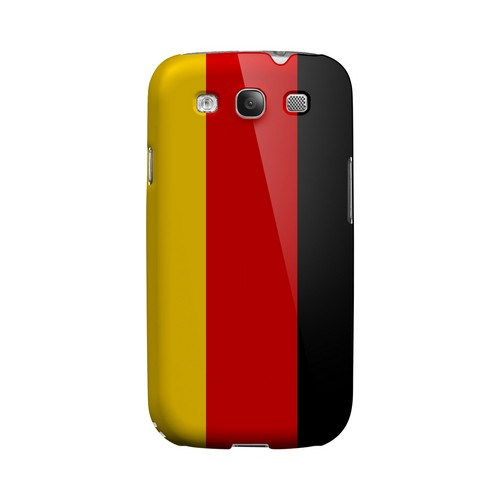 Germany Geeks Designer Line Flag Series Matte Hard Case for Samsung Galaxy S3