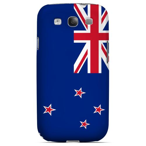 New Zealand Geeks Designer Line Flag Series Matte Hard Case for Samsung Galaxy S3