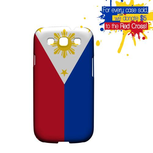 Philippines Philippines Geeks Designer Line Flag Series Matte Hard Case for Samsung Galaxy S3