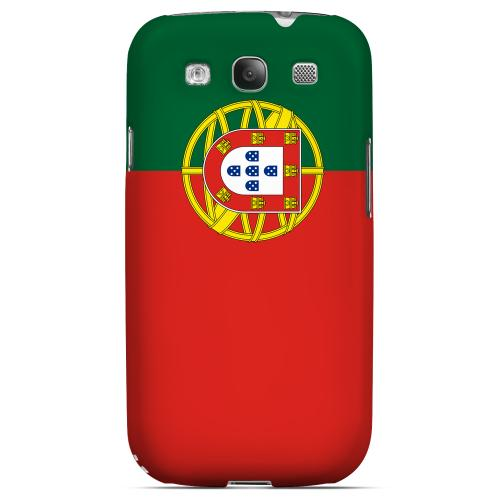 Portugal Geeks Designer Line Flag Series Matte Hard Case for Samsung Galaxy S3