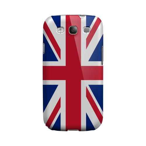 United Kingdom Geeks Designer Line Flag Series Matte Hard Case for Samsung Galaxy S3