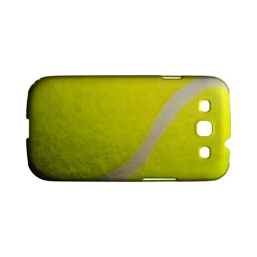Tennis Ball Geeks Designer Line Sports Series Matte Hard Case for Samsung Galaxy S3
