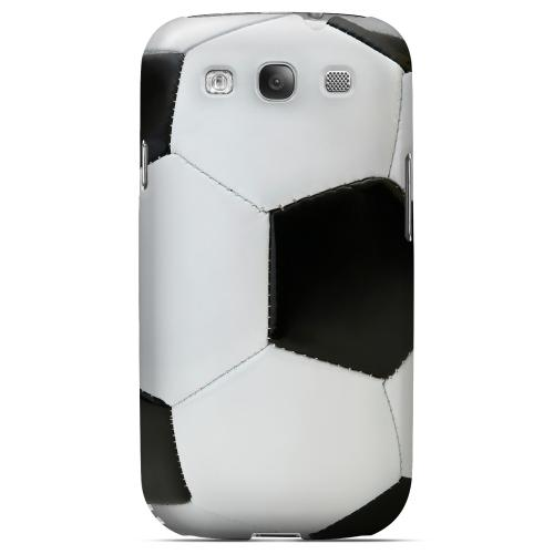 Soccer Ball Geeks Designer Line Sports Series Matte Hard Case for Samsung Galaxy S3