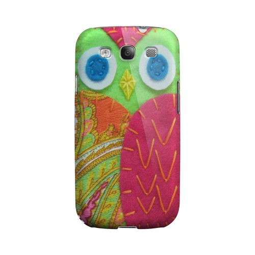 Neon Green/ Pink Geek Nation Program Exclusive Jodie Rackley Series Hard Case for Samsung Galaxy S3