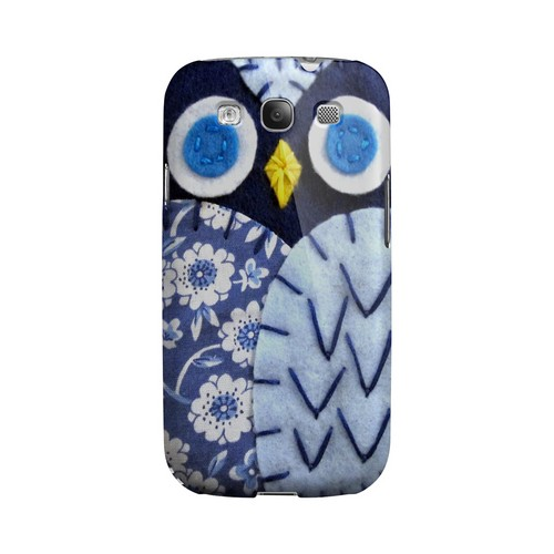 Night Blue Owl Geek Nation Program Exclusive Jodie Rackley Series Hard Case for Samsung Galaxy S3