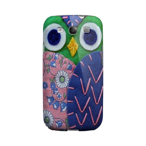 Green/ Blue Owl Geek Nation Program Exclusive Jodie Rackley Series Hard Case for Samsung Galaxy S3