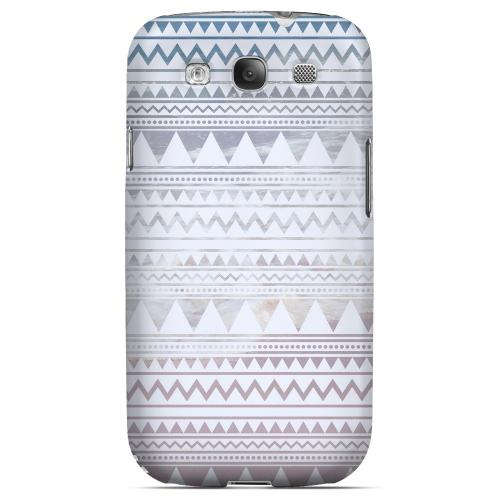 Beach Pattern Geeks Designer Line Zig Zag Series Matte Hard Case for Samsung Galaxy S3