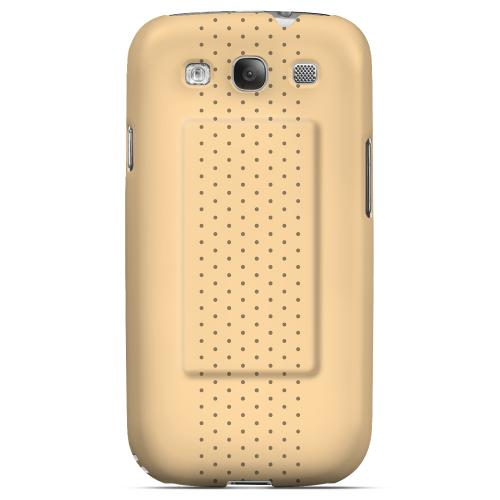 Bandaid Geeks Designer Line Polka Dot Series Matte Hard Case for Samsung Galaxy S3