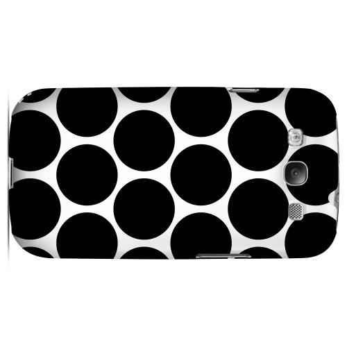 Big & Black Geeks Designer Line Polka Dot Series Matte Hard Case for Samsung Galaxy S3