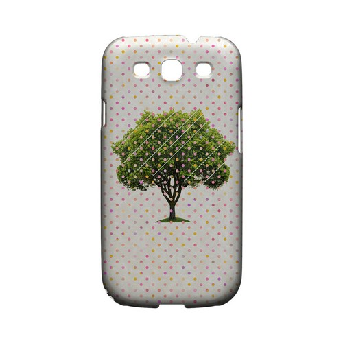 Tree Geeks Designer Line Polka Dot Series Matte Hard Case for Samsung Galaxy S3