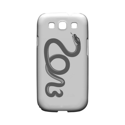 Black Snake Geeks Designer Line Chinese Horoscope Series Matte Hard Case for Samsung Galaxy S3