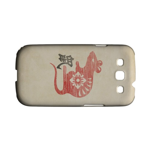 Grunge Rat Geeks Designer Line Chinese Horoscope Series Matte Hard Case for Samsung Galaxy S3