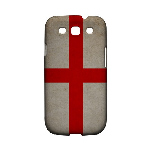 Grunge England Geeks Designer Line Flag Series Matte Hard Case for Samsung Galaxy S3