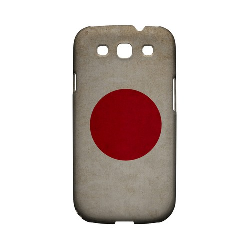Grunge Japan Geeks Designer Line Flag Series Matte Hard Case for Samsung Galaxy S3