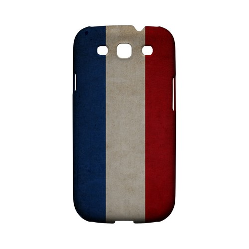 Grunge Netherlands Geeks Designer Line Flag Series Matte Hard Case for Samsung Galaxy S3