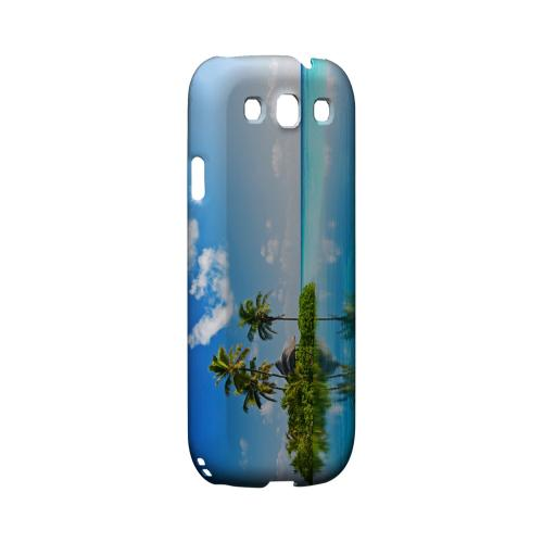 Tropical Paradise Geeks Designer Line Beach Series Matte Hard Case for Samsung Galaxy S3