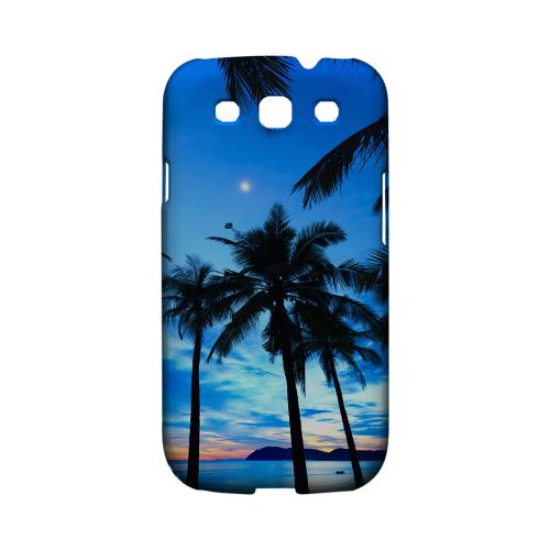 Tropical Sunset Geeks Designer Line Beach Series Matte Hard Case for Samsung Galaxy S3