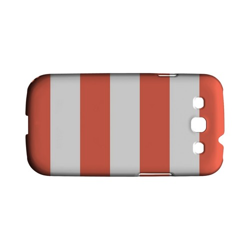 Big Red - Geeks Designer Line Stripe Series Matte Case for Samsung Galaxy S3
